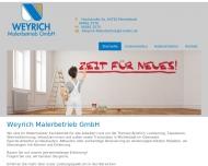 Weyrich Malerbetrieb Michelstadt Odenwald