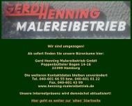 Bild Webseite Henning Gerd Hamburg