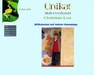 Bild Webseite Lux Christian Malerwerkstätten Unikat Köln