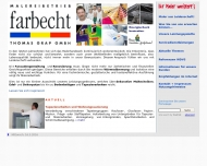 Willkommen beim Malereibetrieb farbecht Thomas Grap GmbH