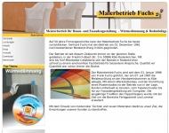 Bild Webseite Fuchs Frank Malerbetrieb Köln
