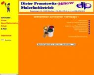 Bild Webseite Prosotowitz-Mitterer Dieter München