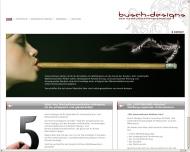 Bild Webseite busch-designs Rösrath