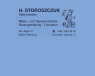 Bild Webseite Storoszczuk Harry Malereibetrieb Hamburg
