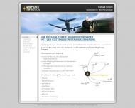 Website Flughafenzubringer Airport Star Shuttles