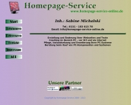 Bild Homepage Service