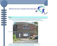 Website Czybulka Physiotherapie