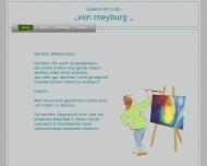 Website Galerie »von Meyburg«