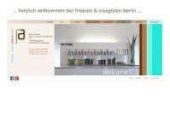 Bild Webseite peter arnheim haare & makeup Berlin