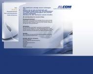 Website Alcom Sicherheitstechnik Vertrieb und Montage Gesellschaft