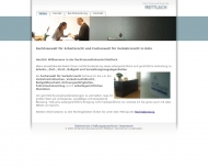 Bild Webseite Rechtsanwaltskanzlei Mettlach Köln