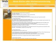 Website Kuechen Bielefeld  by HaWo