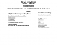 Bild Webseite RRH-Immobilien, Dipl.-Kffr. Regina Reh Hamburg