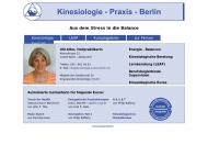 Bild Kinesiologie - Praxis - Berlin