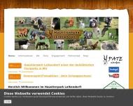 Website HAUSTIERPARK  LELKENDORF