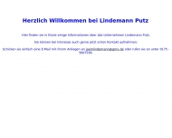 Website Lindemann Putz