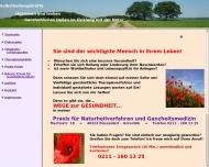 Bild Webseite DIETZ MARITA Praxis für Naturheilverfahren und Ganzheitsmedizin Düsseldorf
