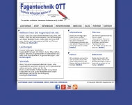 Website Fugentechnik Ott