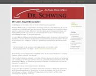 Bild Anwaltskanzlei Dr. Schwing
