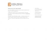 Bild Webseite LINEA PRIMA Druck- und Webagentur Berlin