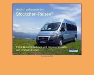 Website Stöckchen-Reisen