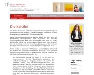 Website Rechtsanwältin & Notarin Silke Terlinden