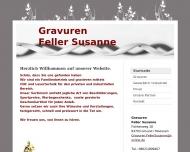 Website Susanne Feller Gravuren