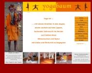 Website yogabaum - Raum für Yoga & Meditation
