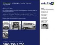 Bild Webseite  Wolgast