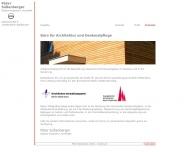 Bild Webseite Büro für Architektur und Denkmalpflege Berlin