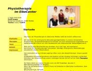 Website Physiotherapie im ElbeCenter Steffi Jongen