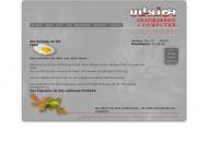 Bild Webseite ULLRiCH Grafikdesign + Computer Magdeburg