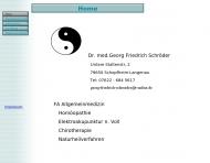 Bild Webseite Dr. med.Georg Friedrich Schröder Schopfheim
