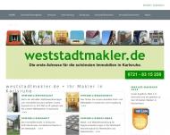 Website weststadtmakler Dipl.-Sachverständiger Martin Burkard