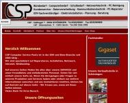 Website CSP - PC-Service - Büro & Schreibwaren