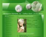 Bild Webseite Friseur / Coiffeur C. Nisius Kolbermoor