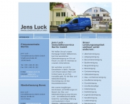 Website Jens Luck Gebäudereinigung