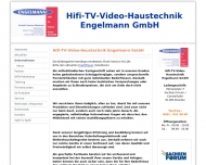 Website HIFI TV VIDEO Haustechnik Engelmann