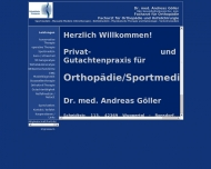 Bild Privatpraxis für Orthopädie, Unfallchirurgie / Sportmedizin  Dr. med. Andreas Göller