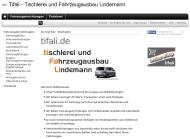 Bild TIFALI - Tischlerei und Fahrzeugausbau Lindemann