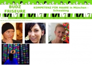 Website BUDZ FRISEURE - Kompetenz für Haare