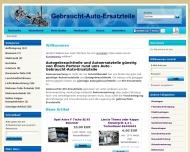Website G-A-E gebrauchte Autoersatzteile