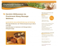 Bild Klang Massage Wellness