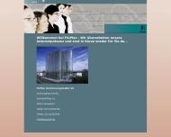 Bild Webseite FinPlan Düsseldorf