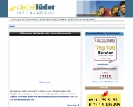 Bild Webseite Detlef Lüder Nürnberg