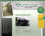Bild Vollmer Aufzüge GmbH