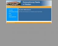 Website Ferienwohnung-Maede