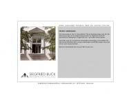 Bild Webseite Buck Siegfried - Projektentwicklung Berlin