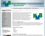 Website KBM Klaus Burmann Montageservice
