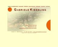 Website Kiessling Gabriele